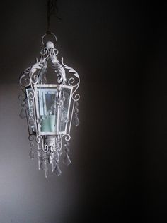 GORGEOUS Giant Candle Chandelier Lantern by ShabulousChandeliers, $112.00