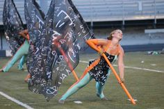 Carolina Crown 2013 Colour Guard, Color Guard Flags, Trinity High School, Play Trumpet, Mellophone, Using People, Drum Corps International, Winter Guard, Band Memes