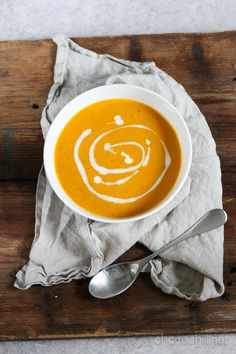 Cardamom and carrot soup. A Food, Food And Drink, Vegan Food, Carrot Soup, Healthy Life, Healthy Eating, Latte, Carrots, Vegetarian Recipes