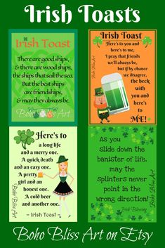 Give a Toast from Ireland! Irish Prayer, Irish Blessing, Irish Sayings, Irish Quotes, Old Irish, Irish Celtic, Irish Toasts, St Patricks Day Quotes, St Patrick Day Activities