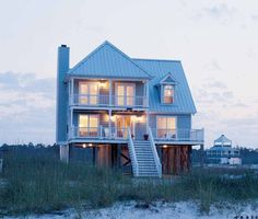 The perfect tidewater beach house