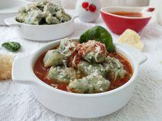 Aleda konyhája: Spenótos gnocchi paradicsommártásban