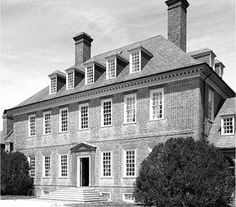Built in the 1750s, Carter's Grove is consided among the best examples of Georgian achitecture in the nation.