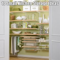 Small kitchen storage ideas. I know many of us her | HGTV Decor