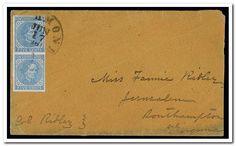 [Envelope addressed to Miss Fannie Ridley, Jerusalem, Southampton, Virginia; postmarked Richmond]