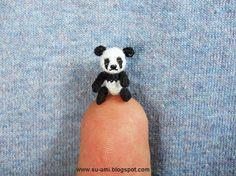 This tiny panda is $95.00!!!