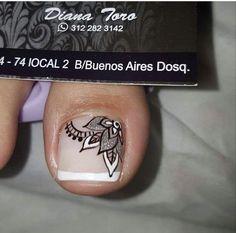 Pretty Pedicures, Pretty Toe Nails, Cute Toe Nails, Tan Nails, Feet Nails, Pedicure Nails, Pedicure Designs, Toe Nail Designs, Nail Polish Designs