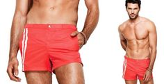 #shan #men #newcollection #red #swimsuit #short #fashion