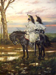 En manteau-capote. Sergente e corazziere del III Reggimento in uniforme da campagna con mantello-cappotto, 1812-1813