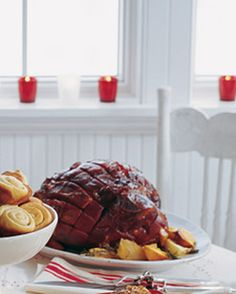 Make this honey-baked ham the centerpiece of your holiday dinner.