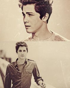 Logan Lerman. I couldn't decide if I liked him or not but this picture.... This picture changes things...