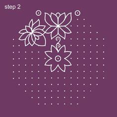 Dot Rangoli Step 2