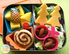 """Psych USA themed bento lunchbox - """"Dual Spires"""" episode ~ Twin Peaks"""