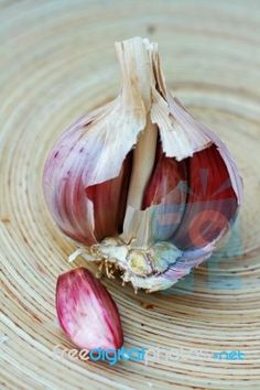 """Garlic Bulb"" by Simon Howden. Available to download free or purchase in high resolution at www.freedigitalphotos.net"
