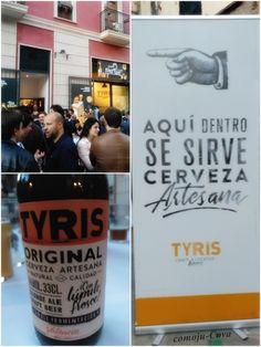 Tyris lanza una nueva imagen para ser la marca líder de las cervezas artesanales en Valencia