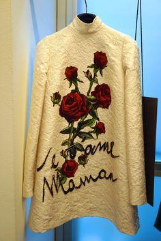 As rosas para a Mamma!