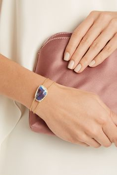 Kimberly McDonald   18-karat gold, opal and diamond bracelet   NET-A-PORTER.COM