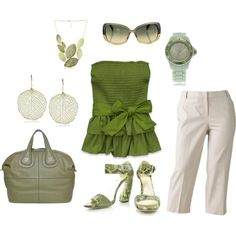 One of my favourite outfits, love the pastel colour!, created by christine-273 on Polyvore clothes-bags-shoes-accessories