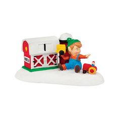Department 56 North Pole Series Fisher Price Lil Farmer 4036558