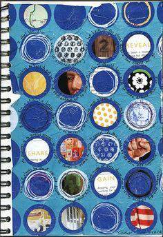 """Art Journal: 8-28-08 :: """"Circles"""""""