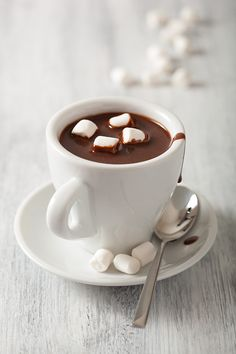 Hot chocolate & marshmallows.