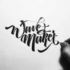 Wave Maker.  #makedaily #calligraffiti #calligritype #typographyinspired #blackletter #inking #ink #lettering #handlettering #customlettering #handstyles #thedailytype #showusyourtype #graphicdesign #goodtype  #typedaily #typespire #art #wordart #typeverything #actypist #lettering_co #dippen