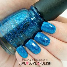 Swatch of China Glaze Dorothy Who? Nail Polish (Wizard Of Ooh Ahz Returns Collection)