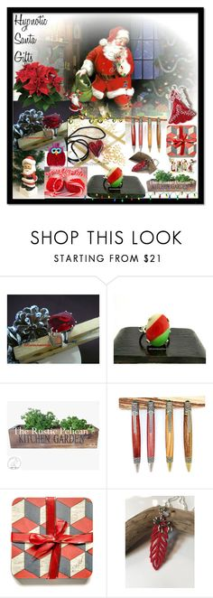 """Hypnotic Santa Gifts"" by sylvia-cameojewels ❤ liked on Polyvore featuring rustic"