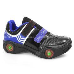 Tênis Infantil Menino Kidy Police - 094001 - Preto Azul