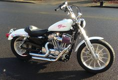 2008 Harley Davidson Sportster Low. Custom paint just for E.