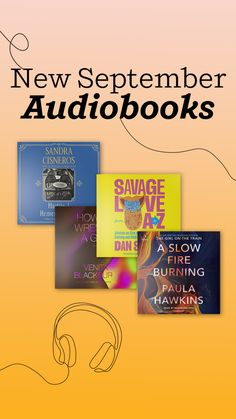 Bookmark this list of some of the most anticipated new audiobooks coming out in September 2021. From psychological thrillers like A Slow Fire Burning by Paula Hawkins, to Savage Love from A to Z: Advice on Sex and Relationships, Dating and Mating, Exes and Extras by sex columnist Dan Savage; to a brand new audio edition of Forever by Judy Blume and more, there are books for readers of every age and interest. Paula Hawkins, Columnist, Thrillers, Savage, Audiobooks, Dan, Relationships, September, Advice