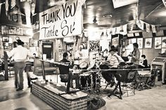 Live traditional Cajun music at Fred's Lounge in Mamou, LA is a ton of fun and a truly special experience! | PopArtichoke