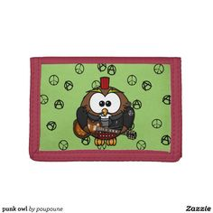 punk owl wallet