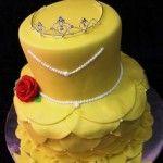 bolo bela e a fera 150x150 Bolos decorados da Princesa Bela
