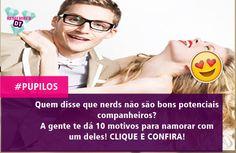CLIQUE E LEIA http://www.diamondteen.com/2015/10/10-motivos-para-namorar-um-nerd.html