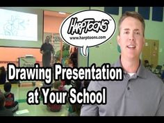 Would your school be interested in a drawing presentation? Click here for more info http://www.harptoons.com/school-visits.html