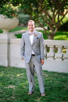 This #Groom is known for wearing #bowties   See the full wedding http://www.stylemepretty.com/2013/11/01/pasadena-wedding-from-troy-grover-photog    Photo: troygrover.com