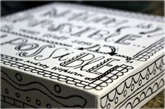 Doodles on canvas
