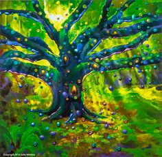 The Fairy Tree - Magical Good Luck ~ by Julia Watkins