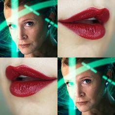 Os batons de Star Wars - cor 30 para General Leia