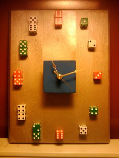 Dice clock!! Awesome!! But do it with a D12 instead
