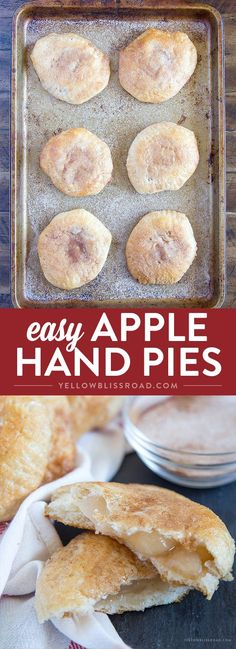 Easy Apple Hand Pies - A yummy fall dessert that everyone will love!