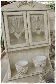 lecosemeravigliose Shabby e country chic passions: Only Houses Very Shabby Chic