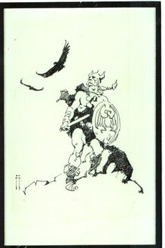 http://capnscomics.blogspot.com/2011/11/some-frazetta-black-n-whites.html