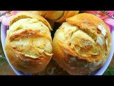 SADECE 3 MALZEMELİ EKMEK🔝 ÇOK PRATİK SİZDE YAPABİLİRSİNİZ! Dışardan ekmek almaya SON!👌 - YouTube Pan Dulce, Baked Potato, Feel Good, Muffin, Food And Drink, Baking, Breakfast, Ethnic Recipes, Youtube