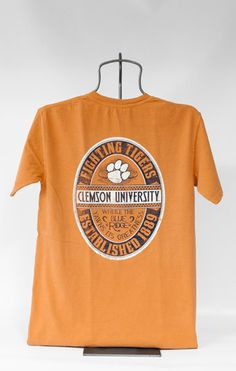 """Orange """"Where the Blue Ridge Yawns Its Greatness"""" shirt now in store!"""