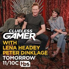 Conan to Play Overwatch With Game of Thrones Stars  Conan O'Brien will take on Game of Thrones actors Lena Headey and Peter Dinklage in Overwatch on the next Clueless Gamer.  Clueless Gamera segment on O'Brien's late-night talk showwill air tonight at 11/10c on TBS. No word on whether Headey who stars as Cersei Lannister in Game of Thrones or Dinklage who plays Tyrion Lannister had been practicing during Overwatch's successful open beta.   via @TeamCoco  Continue reading…