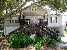 Time Out Charming Second Row Edisto Beach Vacation Homevacation Al In From