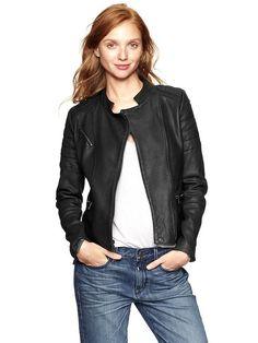 I want a leather jacket...