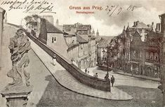 Prague, 1905 Vintage Postcards, Vintage Images, Old Photography, Old Paintings, More Pictures, Czech Republic, Vogue, Europe, Black And White
